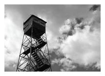 Adirondack Fire Tower by Anne Peck