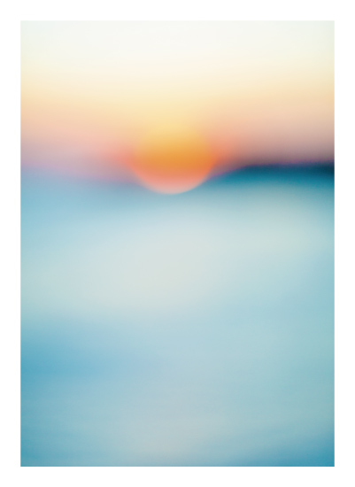 art prints - Sunset Study by Jessica Cardelucci Nugent