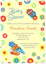 Baby Shoes and Toys by Amanda Bush