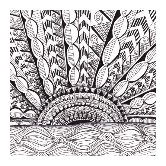 art prints - Rising Over Waves by Laura Maxwell