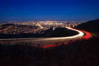 Twin Peaks/San Francisco at Night