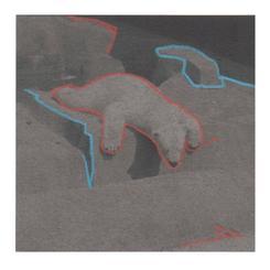 Neon Polar Bear