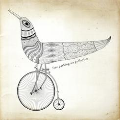 Bird On A Tricycle