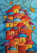 """Shacks and Kites"" by Kristen Panlilio"