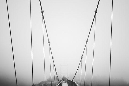 art prints - Through the Fog by Oriana Koren