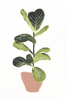 fiddle leaf acrylic
