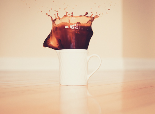 art prints - Coffee Splash by Shelley Seguinot