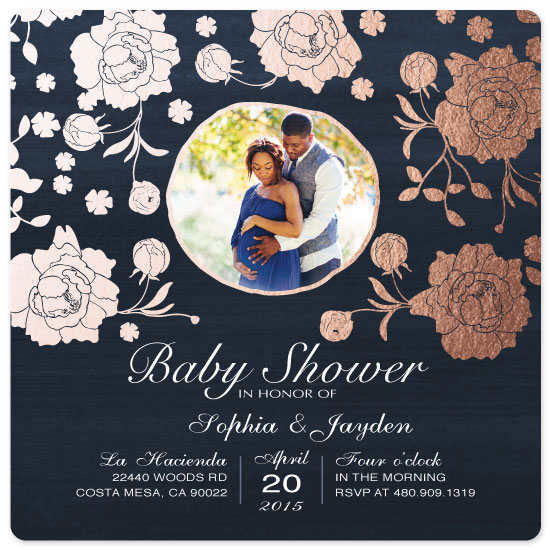 baby shower invitations - Golden Spring Time by eb
