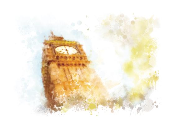 art prints - Big Ben by Jeanette Huss