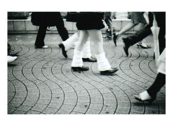 Harajuku Sidewalk