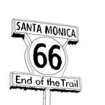 Route 66 - End of the T... by KC Design