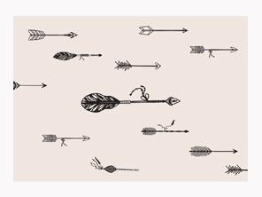 art prints - Follow Your Arrow by Sweet Water Decor