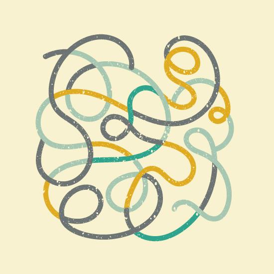 art prints - Swirls by Bee Sahunalu