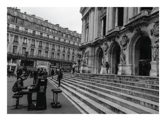 art prints - Concert in Paris by lone lens photography
