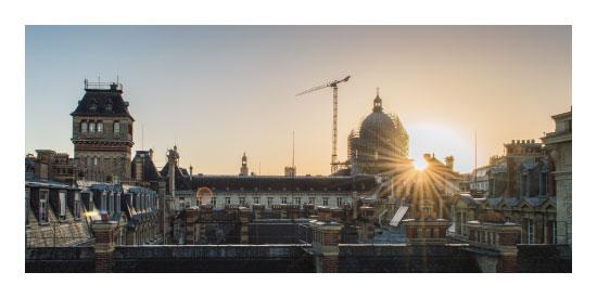 art prints - Sunrise Over Paris by lone lens photography