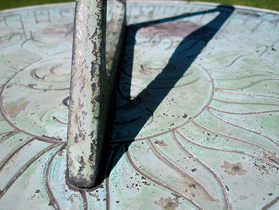 art prints - Garden Sundial by notinsidethebox