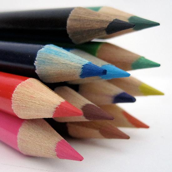 art prints - Sharp Colored Pencils by notinsidethebox