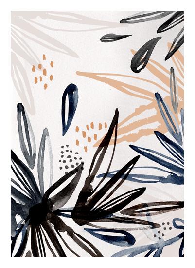 art prints - Flora Burst by Melanie Severin