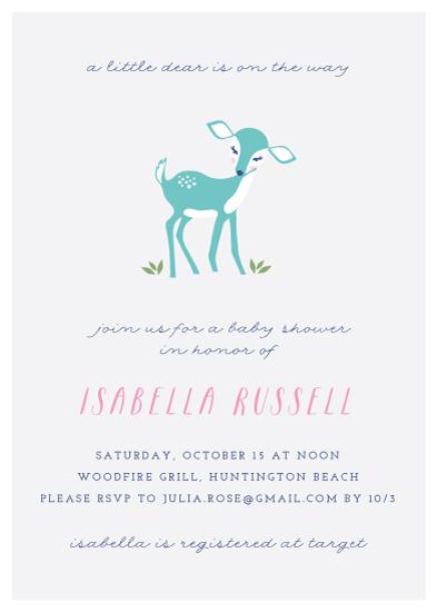 baby shower invitations - Little Dear by Monica Schafer
