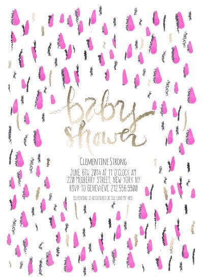baby shower invitations - New York by Emily Sanford