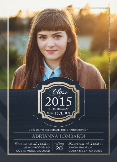 graduation announcements - Proudly Announcing by eb