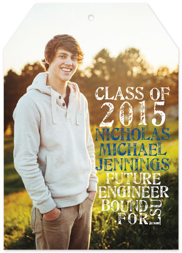 graduation announcements - College Bound by Belle Bourgeois