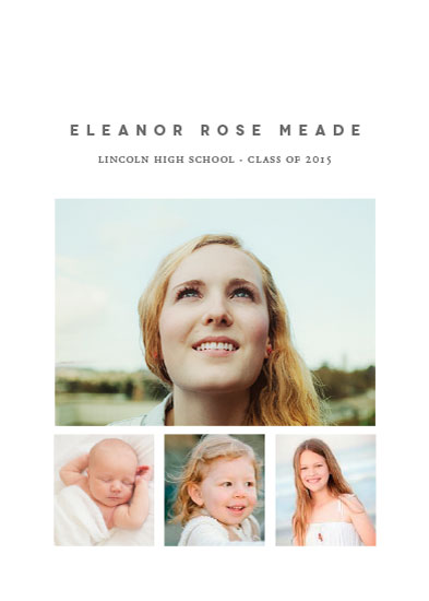 graduation announcements - All Grown Up by Kimberly Morgan