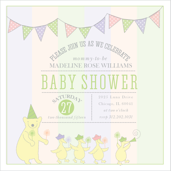 baby shower invitations - Party Parade by Lisa Wcislo