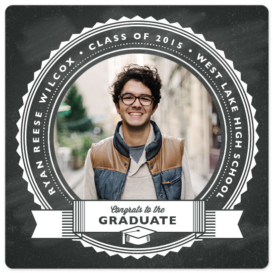 graduation announcements - Seal of approval by Jessica Ogden