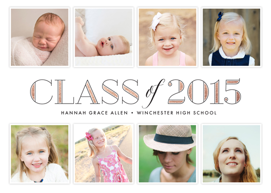 graduation announcements - Through the Years by Jessica Williams
