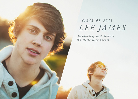 graduation announcements - Fresh Perspective by Keen Peachy