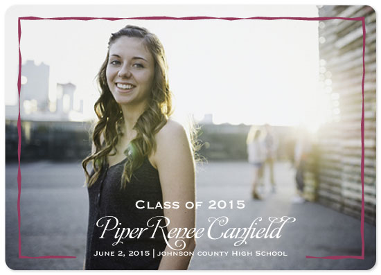 graduation announcements - Framed in Color by Sue Minor