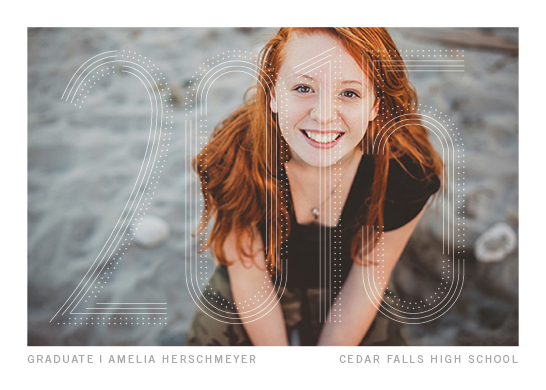 graduation announcements - The Year in Lights by Andy Fehrenbach