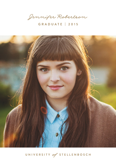graduation announcements - perfect graduate by Phrosne Ras