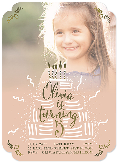 party invitations - Birthday party invitation by Ivana Aleksov