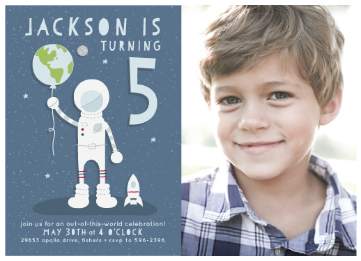 party invitations - Out of this World by Lorent and Leif