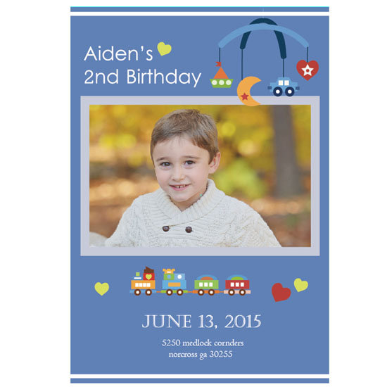 party invitations - Aiden's  Birthday party invitation by Minae son