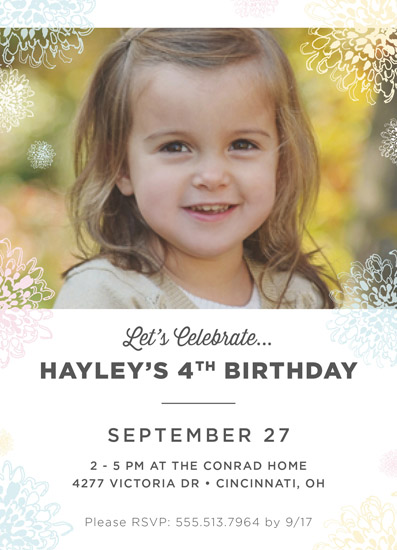 party invitations - Garden Party by Peppermill Creative