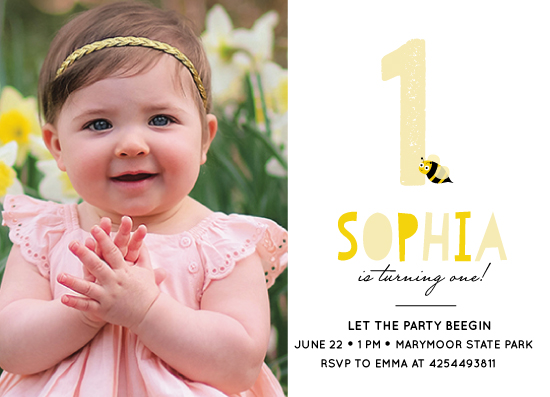 party invitations - LET THE PARTY BEEGIN by Anupama