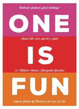 One is Fun