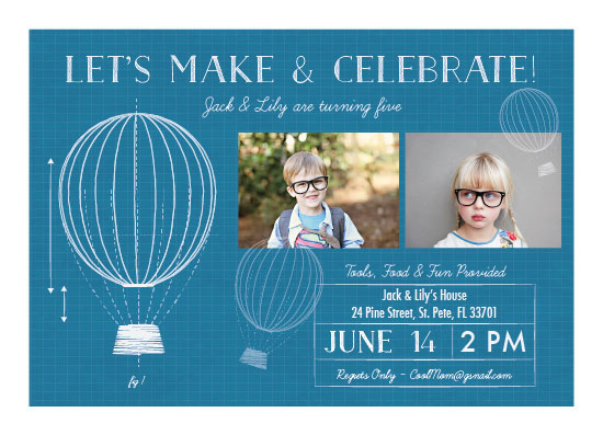 party invitations - Maker by TJ