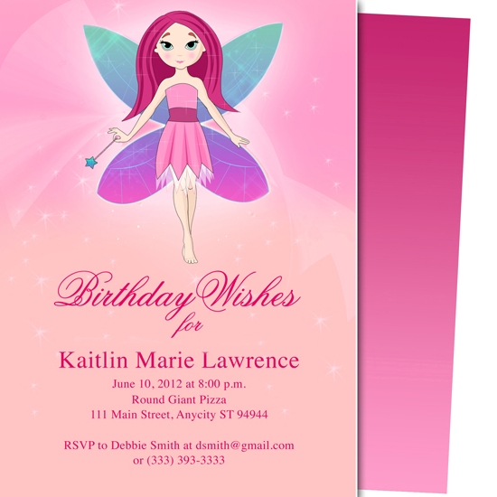 party invitations - Twinkle Kids Birthday Party Invitation Template by Adam Smith
