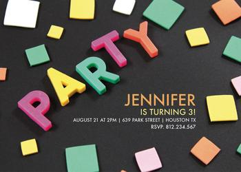 Party time letters