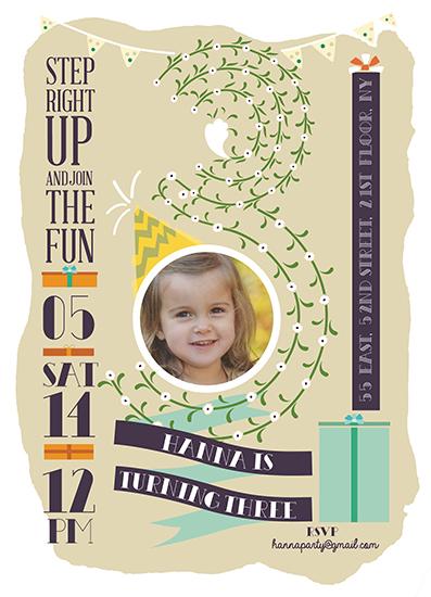 party invitations - Happy 8! by Ivana Aleksov