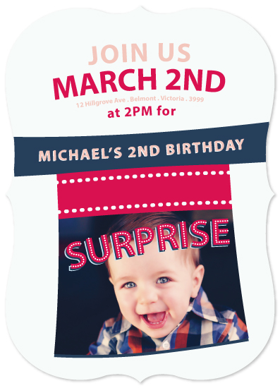party invitations - Magical Surprise by Tina Frank