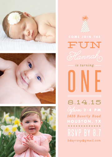 party invitations - Photo Fun by Lauren Chism