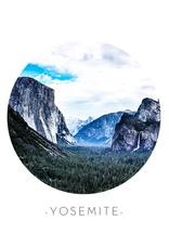 Blue Yosemite by Sherei Co.