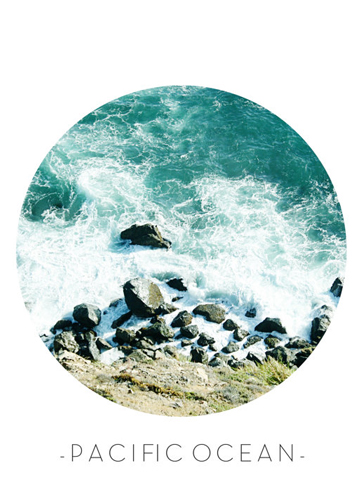 art prints - Pacific Ocean by Sherei Co.