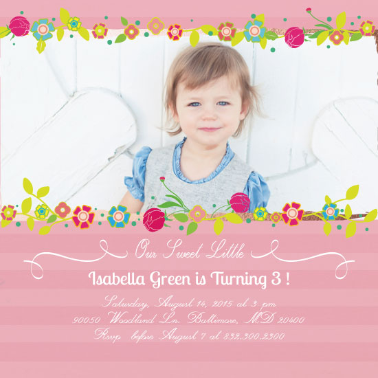 party invitations - Spring Time is Here by eb