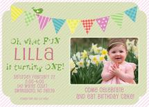 Birthday Banner by Susan Teachey